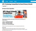 HP rural schools competition